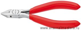 Кусачки боковые (Кусачки диагональные, БОКОРЕЗЫ)  для электроники KNIPEX 77 21 130