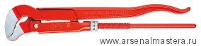 Клещи трубные с S-образным смыканием губок (Ключ трубный угловой) KNIPEX 83 30 020