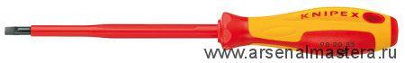Отвертка для винтов с шлицевой головкой KNIPEX 98 20 55