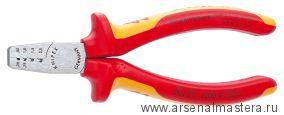 Инструмент для обжима контактных гильз (ИНСТРУМЕНТ для опрессовки кабельных наконечников) KNIPEX 97 68 145 A