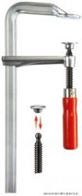 Цельнометаллическая струбцина BESSEY GZ с традиционной деревянной ручкой GZ125