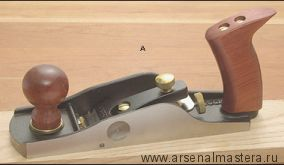 Рубанок Veritas Low-Angle Smooth Plane, 254мм / 51мм / 12° / А2, 05P25.01