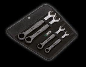 Набор гаечных ключей WERA Joker с кольцевой трещоткой (4 предмета)