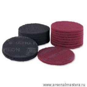 Шлифовальный войлок синтетический Mirka MIRLON 150мм UF 1500 в комплекте 10шт.