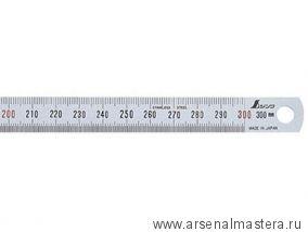 Стальная гибкая линейка премиум сегмента Shinwa 30 см