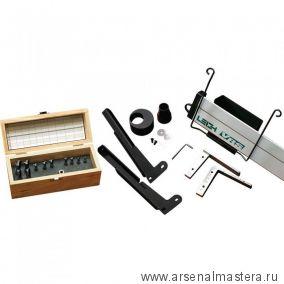 Устройство пылеудаления и поддержки фрезера для шипорезки Leigh SuperJig24 плюс набор фрез 2411-8
