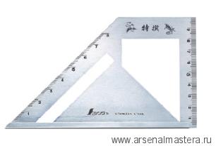 Шаблон угловой Shinwa, 163х15х5мм, Sh 62081