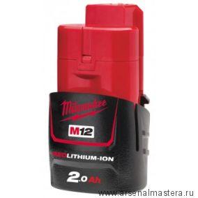 Аккумулятор Milwaukee (милуоки) M12 B2 4932430064