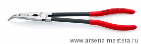 Плоскогубцы монтажные с поперечным профилем (изогнутая головка) KNIPEX 28 81 280