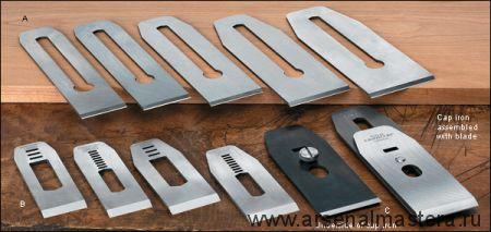 Нож для рубанков Stanley N4-1/2, N5-1/2, N6 и N7, материал - PM-V11, 60.33мм (2-3/8) Veritas