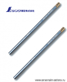 Карандаши чернильные (химические) для плотницкой черты, Shinwa Indelible Ink Pencil, 2 шт