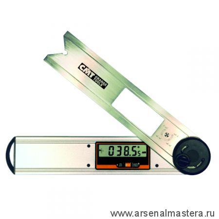 Приспособление для измерения (электронная малка) - цифровой угломер с уровнем, линейкой CMT DAF-001