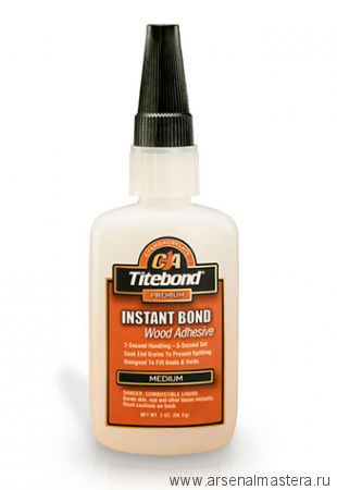 Супер клей Titebond Instant Вond 56.8 гр TB6211
