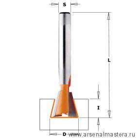 CMT 918.190.11 Фреза ласточкин хвост 7гр. S8 D19x22