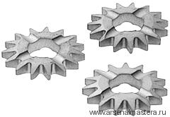 Фрезы дисковые прямозубые FESTOOL, комплект из 12 шт. HW-SZ 12