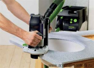 Вертикальный фрезер FESTOOL в контейнере T-Loc OF 2200 EB-Set
