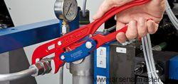 Клещи трубные с S-образным смыканием губок (Ключ трубный) KNIPEX 83 61 015