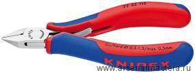 Кусачки боковые (Кусачки диагональные, БОКОРЕЗЫ)  для электроники KNIPEX 77 32 115