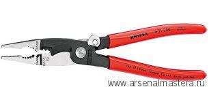 Многофункциональные клещи для электромонтажных работ KNIPEX 13 91 200
