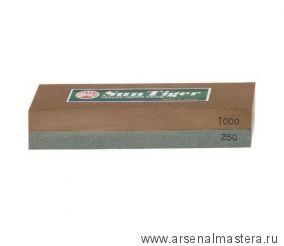 Брусок абразивный японский комбинированный 250 / 1000 150*50*25 мм Sun Tiger М00000604 711016