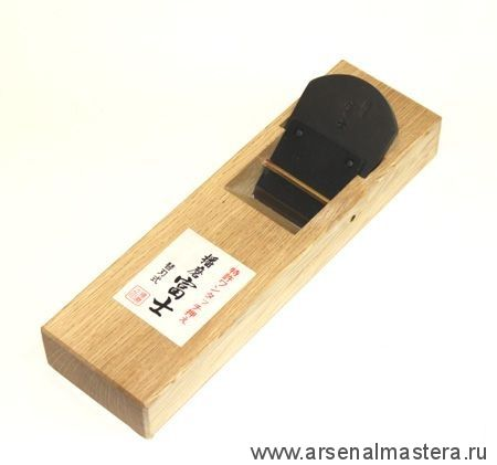 Рубанок японский из белого дуба MikiTool 210 / 50 мм, составной нож М00010354