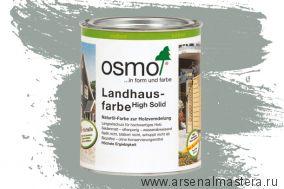 Непрозрачная краска для наружных работ Osmo Landhausfarbe 2742 серый туман 0,75 л