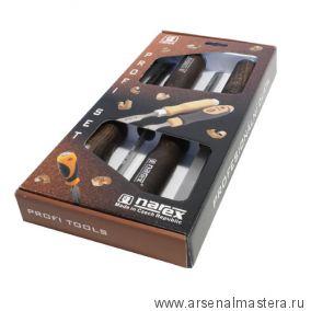 Набор долото  Narex WOOD LINE PROFI (4, 6, 10, 12мм) 4 шт в картонной коробке 863600
