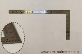Угольник плоский Shinwa, 150х75мм Sh 12103