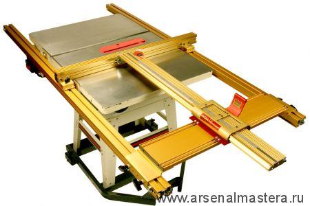 Позиционер (комплект)  INCRA 1320 мм для пильного станка шириной до 711 мм (рельсы 2337 мм) M-LS52-TS