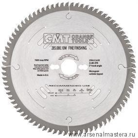 CMT 285.064.08M Диск пильный поперечное пиление 200x30x3,2/2,2 5гр 15гр ATB Z64