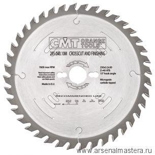 CMT 294.048.10M Диск пильный 254x30x2,4/1,8 -5гр 10гр ATB Z48