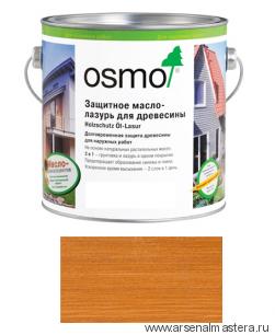 Защитное масло-лазурь для древесины для наружных работ OSMO Holzschutz Ol-Lasur 728 Кедр 0,75 л